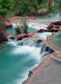 The Four Grandiose Waterfalls