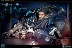 SIDESHOW COLLECTIBLES STARCRAFT II RAYNOR SIXTH SCALE FIGURE UNVEILED