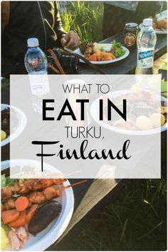 A guide of what to eat in Turku, Finland!