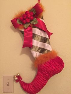 JESTER FOOT Christmas Stocking