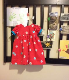Precious Dress using Scientific Seamstress pattern. Size 1