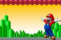 Super Mario Bros: Imprimibles, Invitaciones y Tarjetas Gratis. | Ideas y material gratis para fiestas y celebraciones Oh My Fiesta!