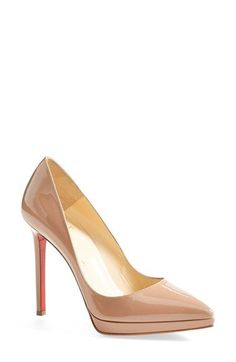 35a0cf27d28b Christian Louboutin  Pigalle Plato  Pointy Toe Pump available at  Nordstrom Christian  Louboutin Nordstrom