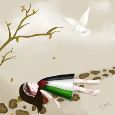 :: Gaza Suffer :: by seeba on DeviantArt