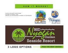 Pad Design, Cover Design, Logo Branding, Branding Design, Label Design, Graphic Design, 3d Presentation, Resort Logo, Coffee Logo