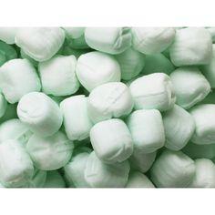 Pastel Green Pillow Mints Candy: 5LB Carton