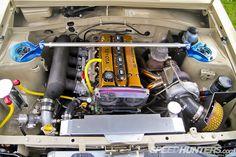 toyota starlet kp61 '84 4agze hks turbo kit