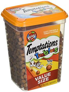 Temptations Tumblers Treats for Cats 14 oz Tasty Chicken and Turkey *** Find out more about the great product at the image link. (This is an affiliate link and I receive a commission for the sales)