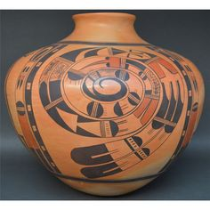 Hopi Jar Native American Pueblo Pottery by CulturalPatina on Etsy
