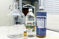 I have made a ton of homemade cleaning solutions, but was a little nervous about making a mopping solution for my wood floors. I wanted to make sure that I coul…