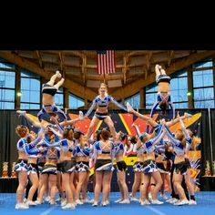 Wish I did competitive cheer SO bad!