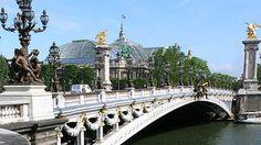 Мост Александра III в Париже (фото)