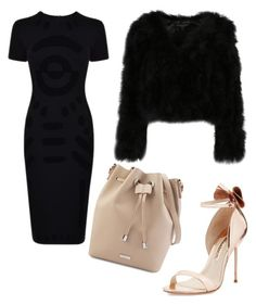 """good work!!!😁"" by stocheciusara ❤ liked on Polyvore featuring McQ by Alexander McQueen and Sophia Webster"