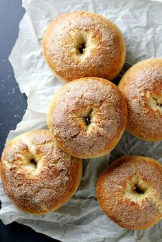 French Toast Bagels   girlversusdough.com @stephmwise