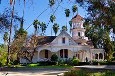 Queen Anne Cottage   Queen Ann Cottage - Los Angeles County Arboretum