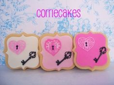The Key to my Heart By Corrie76 on CakeCentral.com