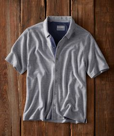 f57046d8fbb Men s Flipside Shirt - We found this cool pique knit — only to find that its