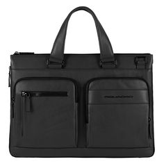 Expandable computer portfolio brief with iPad®Air/ - Briefcases - Bags and Bagpacks
