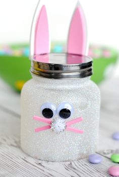 Easter Bunny Candy Jar