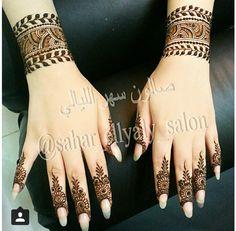 Henna. UAE. Al Ain Mehndi Tattoo, Henna Tattoo Designs, Henna Mehndi, Henna Art, Hand Henna, Hena Designs, Tattoo Ideas, Beautiful Henna Designs, Beautiful Mehndi