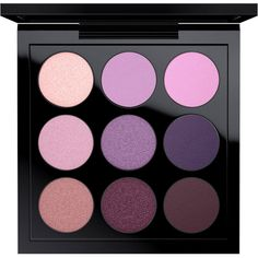 Eye Shadow x 9 Purple Times Nine MAC Cosmetics Official Site ❤ liked on Polyvore featuring beauty products, makeup, eye makeup, eyeshadow, mac cosmetics eyeshadow, palette eyeshadow and mac cosmetics