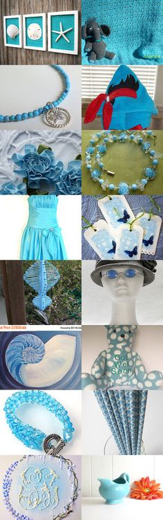 Shades of Blue by Jennifer Zia on Etsy--Pinned+with+TreasuryPin.com