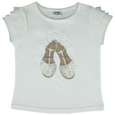 Honey & Clover Kidswear / Children's Apparel | Princess Slippers Dress Top by Mayoral