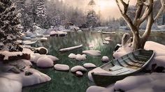 Join the newly promoted Senior Ranger for another truly sensational adventure in the great outdoors in Vacation Adventures: Park Ranger 3! Click the pin to play. Game Background Art, Episode Backgrounds, Christmas Themes, The Great Outdoors, Ranger, Join, Vacation, Adventure, Play