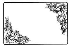 Black And White Flower Wallpaper Borders