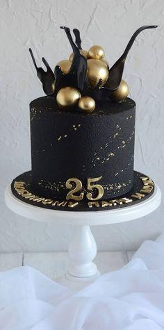 50th Birthday Cake For Women, Birthday Cake For Boyfriend, 25th Birthday Cakes, Elegant Birthday Cakes, Beautiful Birthday Cakes, Birthday Cake Designs, 25th Birthday Ideas For Him, Boyfriend Cake, 25 Birthday