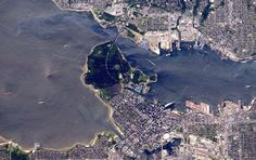 Vancouver, British Columbia, on April 25, 2016. - Tim Kopra / NASA