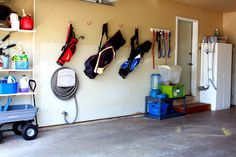 44May Featured Space: Outdoors - Garage Before