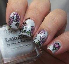 The Clockwise Nail Polish: BBF-57 Stamping Plate Review