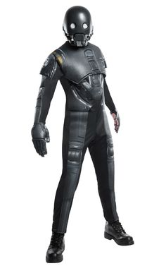 Amazing Star Wars: Rogue One - Seal Droid Deluxe Adult Costume. Ultimate collection of Star Wars Costumes for Halloween at PartyBell. Star Wars Halloween, Adult Halloween, Adult Costumes, Halloween Costumes, Costume Star Wars, Morris Costumes, Half Face Mask, Star Citizen, S Star