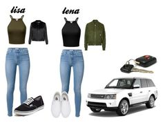 """lisa and lena birthday"" by blah101today on Polyvore featuring 7 For All Mankind, Vans, Glamorous and Topshop"