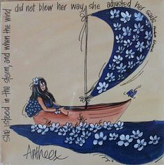 Adjust your sails. Bible Art, Bible Verses, Africa Art, Painting Quotes, Joy Of Life, Pallet Art, Afrikaans, Friend Pictures, Portrait Inspiration