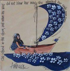 Love this piece.  Anthea art follow her on Facebook