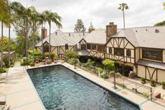 Spanning seven buildings, this property includes a Tudor-style main home, built in the 1930's, as well as a caretaker's cottage, carriage house, two-story aviary and a pool pagoda with a restaurant-style kitchen, sushi bar and teppanyaki station. The property also has its own fire station, which is recognized by the Los Angeles County Fire Department.