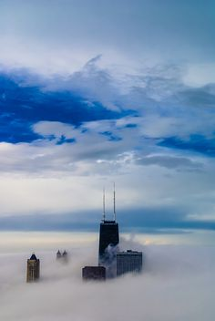 Chicago Pin of the Day (11/10/2013): One very foggy day.