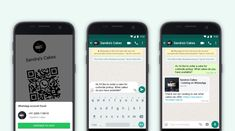 WhatsApp Business, now with 50M MAUs, adds QR codes and catalog sharing | TechCrunch Smartphone, App Whatsapp, Ecommerce, Whatsapp Marketing, Promotion Tools, Facebook E Instagram, Business Stickers, Tech Updates, Converse
