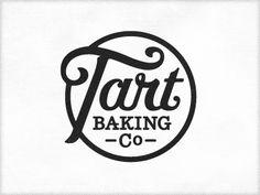 Tart Baking Company #lettering #logo #graphicdesign