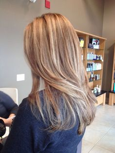 Bronde hair for fall