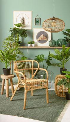 Ideas for bedroom rustic green interiors Decor, Green Interiors, Interior, Botanical Interior, Room Inspiration, House Interior, Home Deco, Rustic Bedroom, Living Room Designs