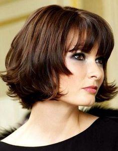 Short chin length hairstyles, bringing
