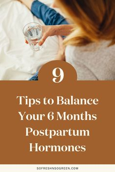 Nine of our top tips to balance your 6 months postpartum hormones. As a new mama, prioritizing your rest, wellbeing and self-care during the first few months postpartum has a huge impact on your healing and recovery, working to balance your hormones and optimize your overall health. Try any of the simple steps listed in this post to support you on your path. #postpartum #hormones Fertility Food For Women, Fertility Foods, Seed Cycling, Low Thyroid, Estrogen Dominance, Night Sweats, Postpartum Recovery, Adrenal Fatigue, Hormone Imbalance