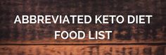Ketogenic Diet Food List https://paleomagazine.com/ketogenic-diet-food-list #keto #ketogenic