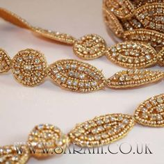 GOLD STONED  Rhinestone trimming,edging,trim,sequins,beads,embellishment,stones #sarahicouk