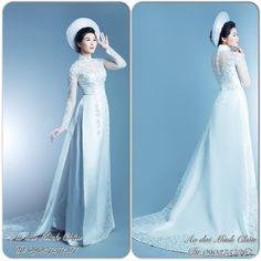 áo dài wedding dress