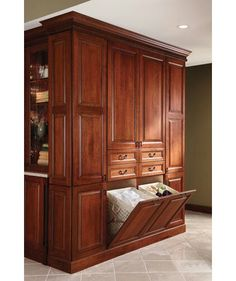 Traditional Bathroom Master Bathroom Cabinets Design, Pictures, Remodel, Decor and Ideas - page 4 Menards Cabinets, Bathroom Cabinets, Bathroom Laundry, Bathroom Closet, Bathroom Sinks, Laundry Rooms, Laundry Design, Linen Cabinet, Hamper Cabinet
