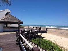 Praia do Sul . Local Pier do Hotel Opaba - Ilhéus